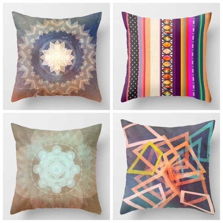 Colourful throw pillows sale - pillow - trinkl | ello