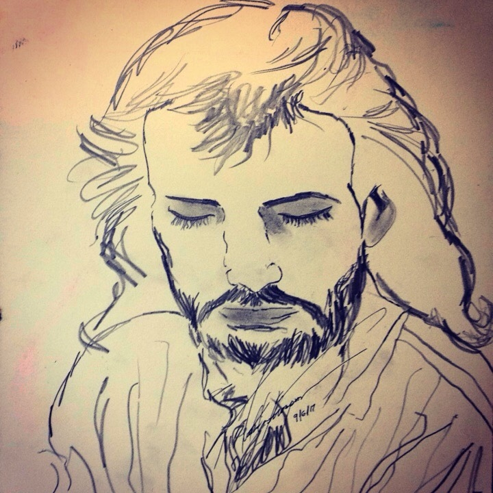 Jesus Submitted [@ Studio](http - loveartwonders | ello