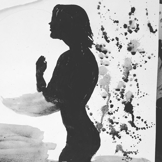 Prayer Silhouette - loveartwonders | ello