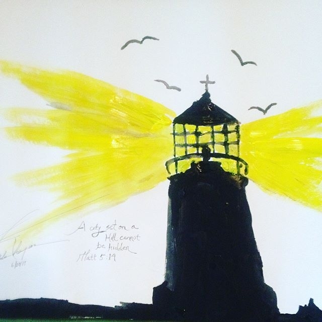 Lighthouse - loveartwonders   ello