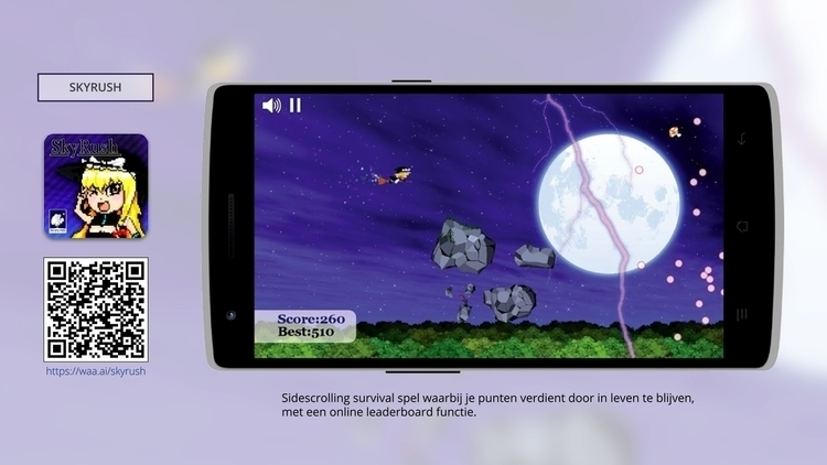 SkyRush, Android Game Project  - wvw001   ello