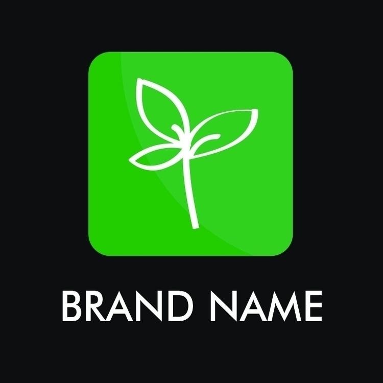 Logo Concept, Green 5 - Plant - wvw001 | ello