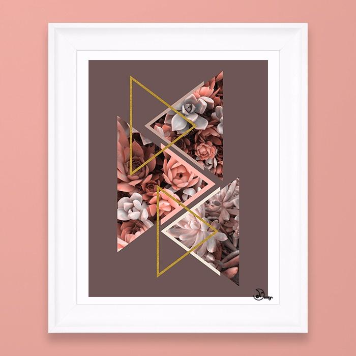 Elegant Succulents abstract com - designdn | ello