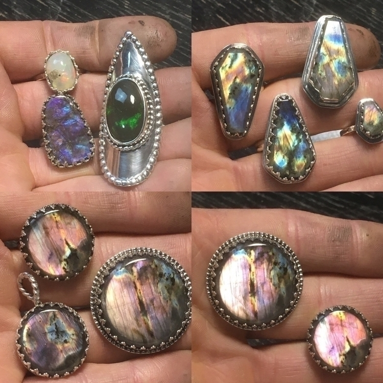 handmade silver statement rings - phoenixrisingjewelry | ello