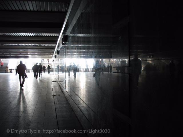 City - city, passage, light, shadow - dmytroua | ello
