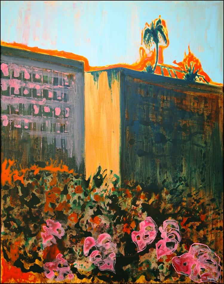 'September City' Acrylic Canvas - baswiegmink | ello