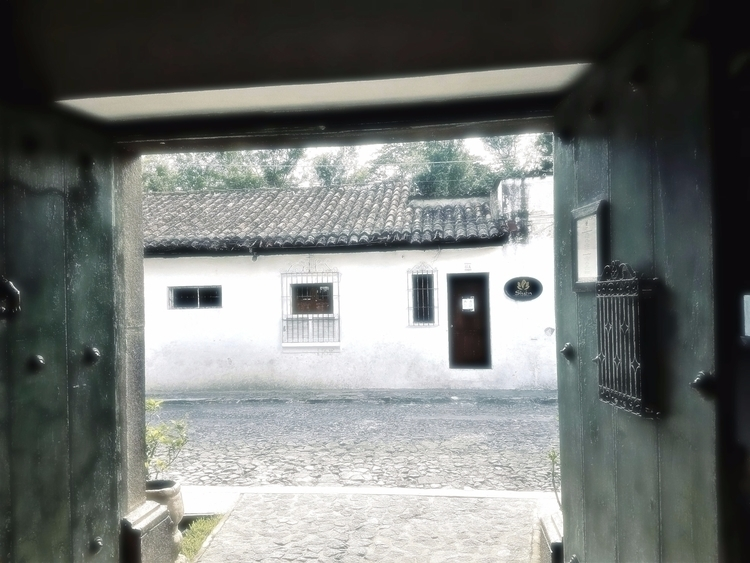 Entrance - Antigua, Guatemala, door - sirhowardlee | ello