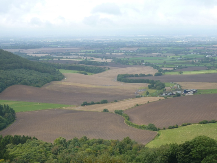Views Sutton Bank, Yorkshire - landscape - firehorsetextiles | ello