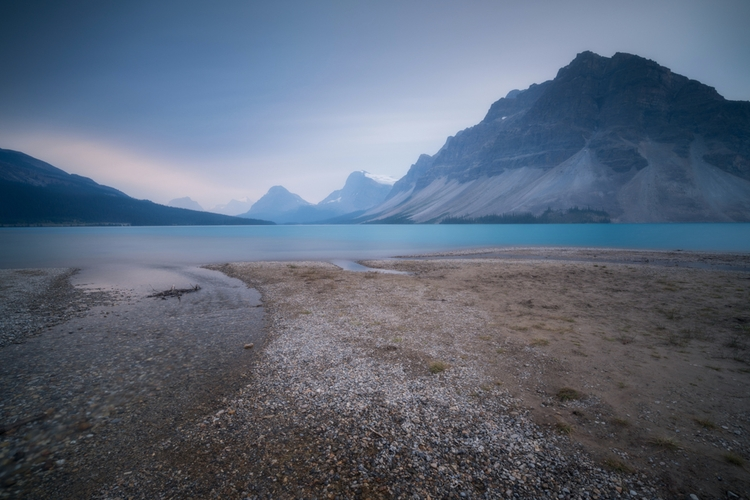 Waves - Bow Lake, Banff thefoxp - fadihage | ello