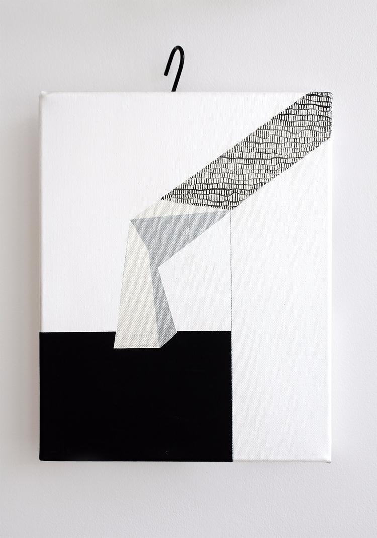 _Look, 30x40 cm, acrylic, paint - ilobahie   ello