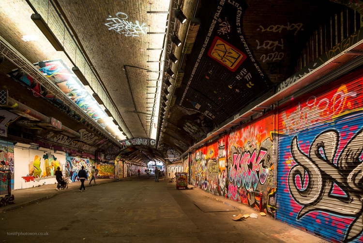 Leake Street - graffiti, art, London - toni_ertl | ello