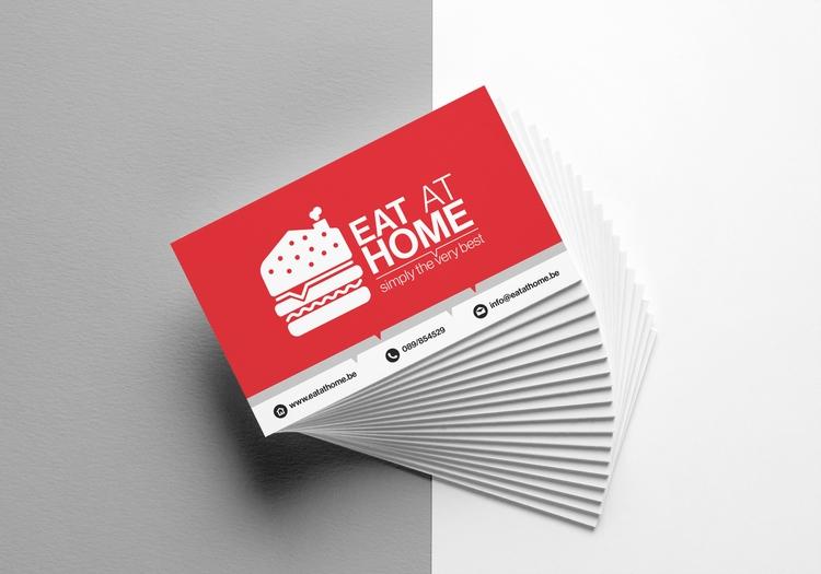 Eat Home branding (Business car - sinterclaas | ello