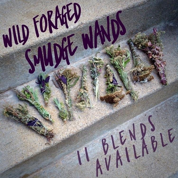 11 handmade Wild Foraged Smudge - noreasternherb | ello