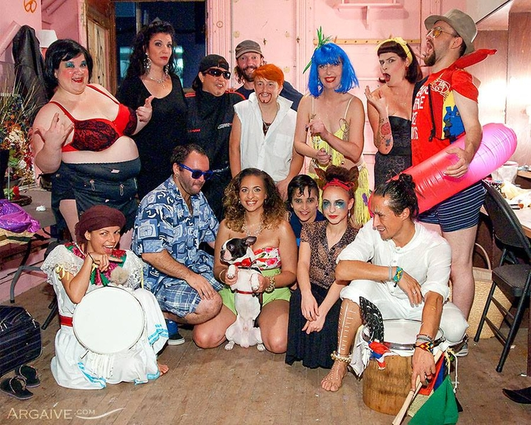 Backstage cast crew - candyasscabaret - velmacandyass | ello