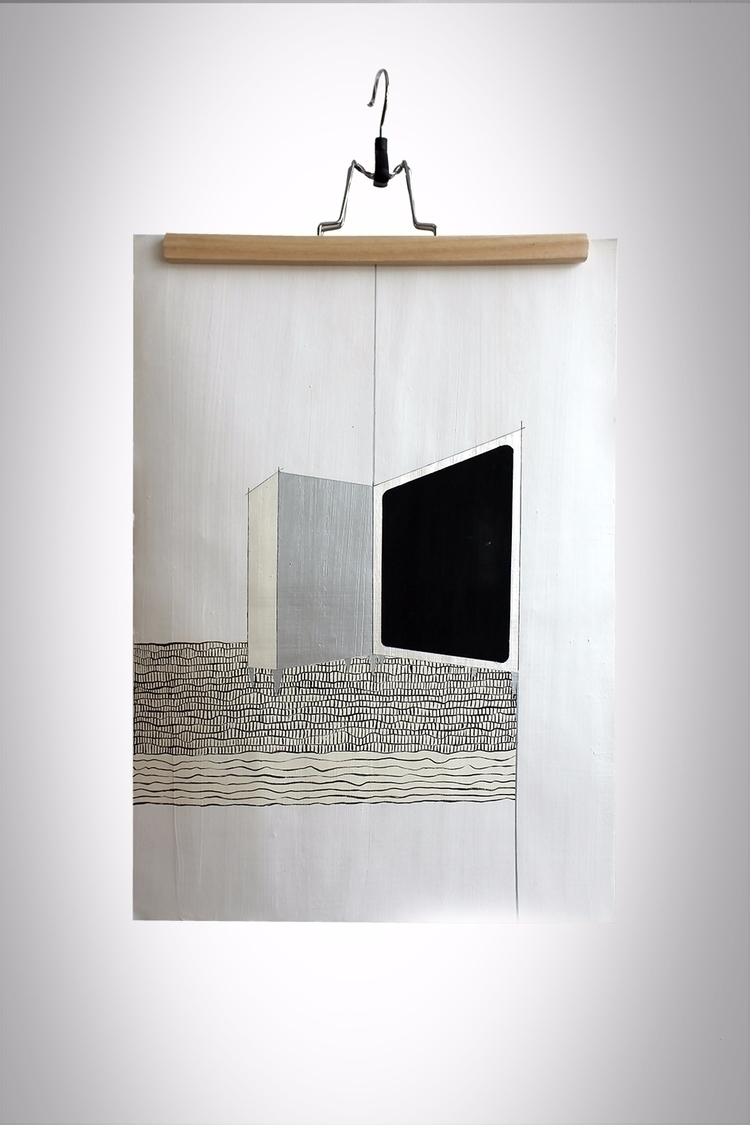 _no, 42x429,7 cm, ink, ilstrati - ilobahie | ello