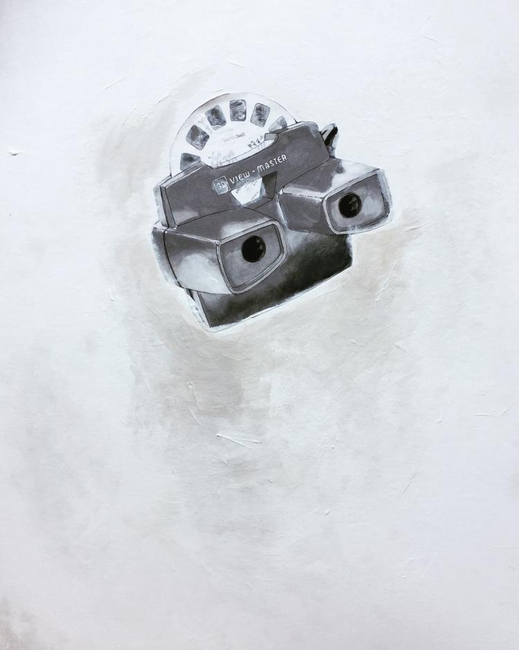 Ink , paint paper board  - noellemaline - noellemaline | ello