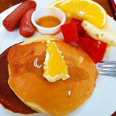 Pancakes, Butter, MapleSyrup - vicsimon | ello