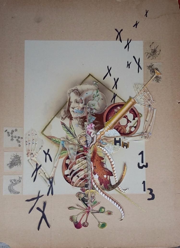 Danse Macabre II, handcut colla - axelle1334 | ello