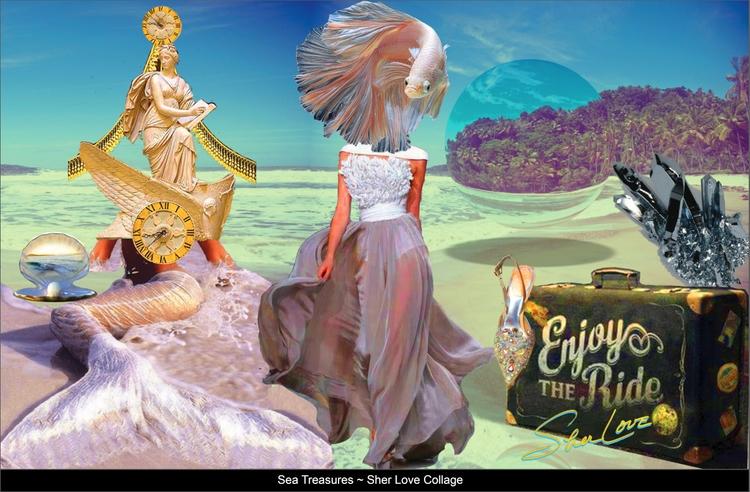 Sea Treasures ~ Sher Love Colla - sherlove | ello