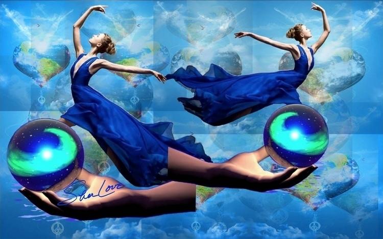 Dancing Love Spheres ~ Sher Col - sherlove   ello