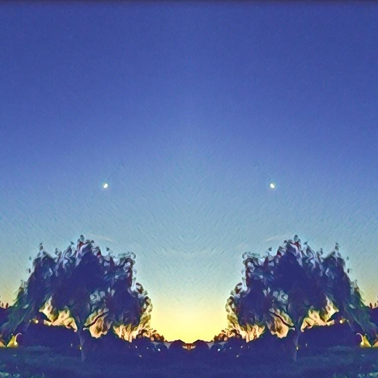 SoCal evening sky - prisma, bumblebee - melissa-me   ello