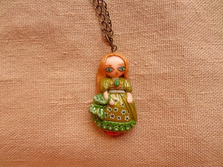 Victorian Doll Necklace - victorian - thefluffandpurr | ello