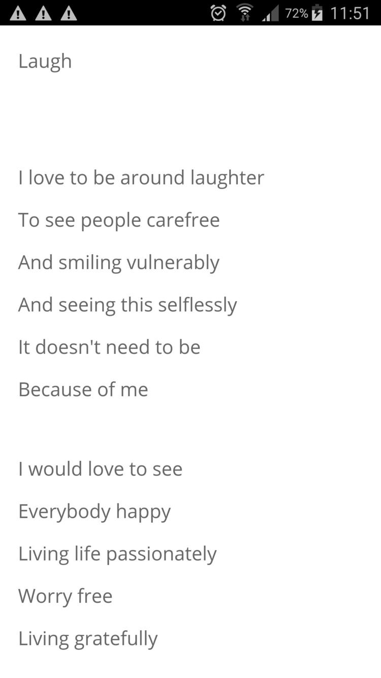 Link Poem,Laugh - poetry, poet - humanityinpoetry | ello