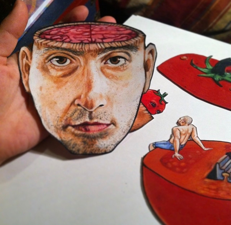 drawing, prismacolor, illustration - caseypromise | ello