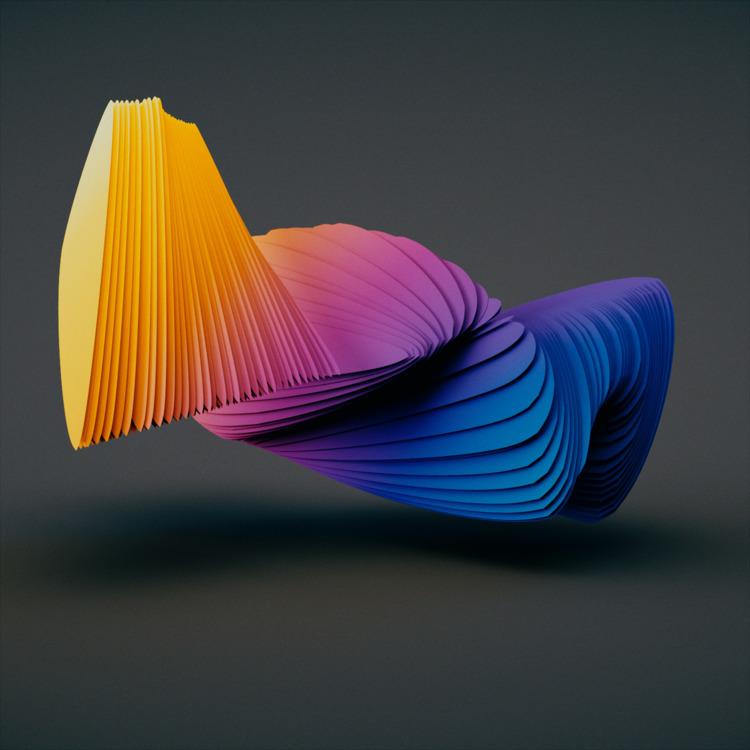 Papercuts - cinema4d, c4d, render - ionsounds | ello