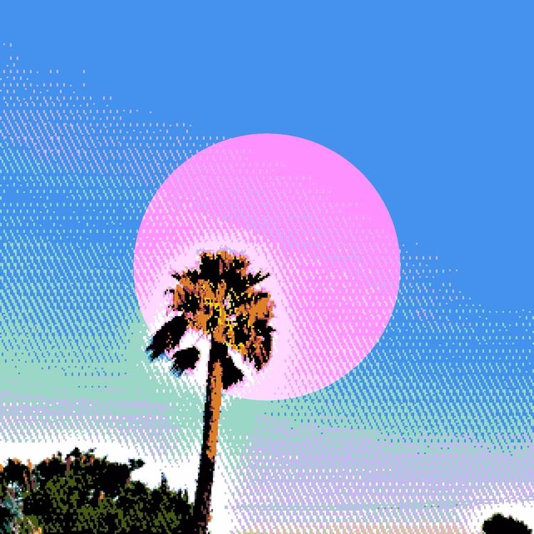 Art - Pixel, Digital, Vaporwave - mikhiet | ello