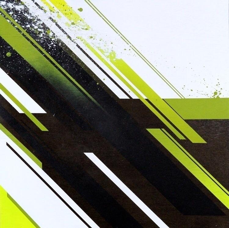 Techno Froggy Emit Spray Paint  - bitfactory | ello