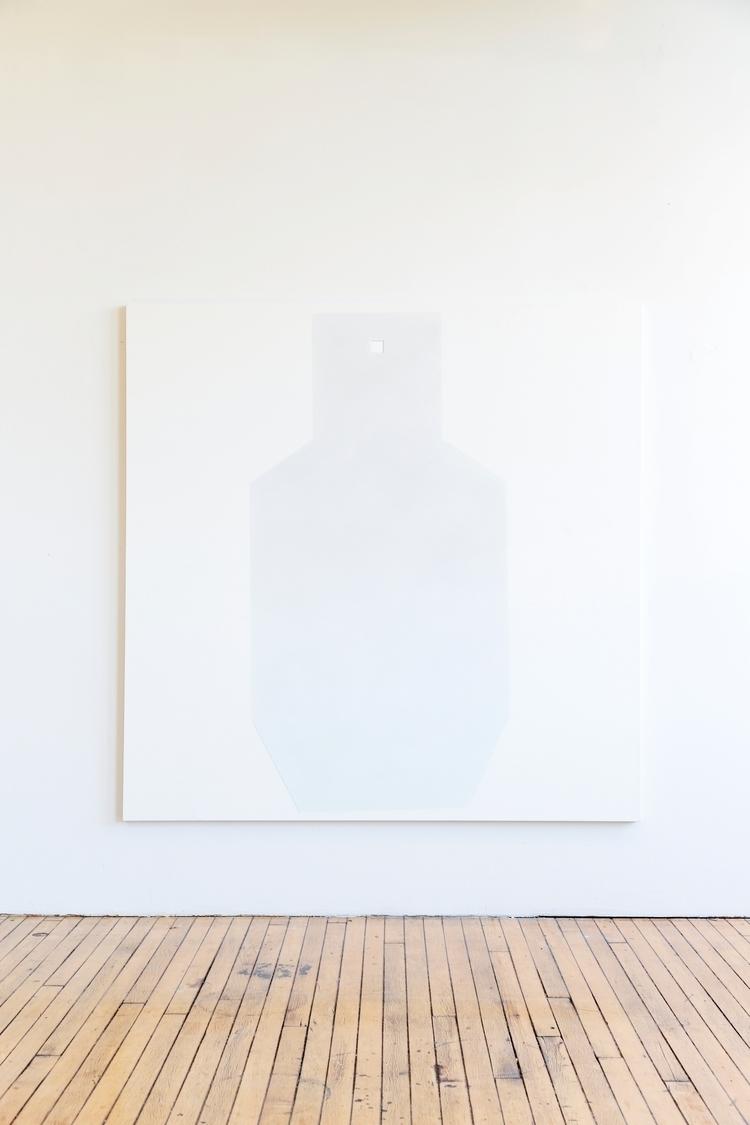 White Target, oil/ canvas, 2015 - osiflandia | ello
