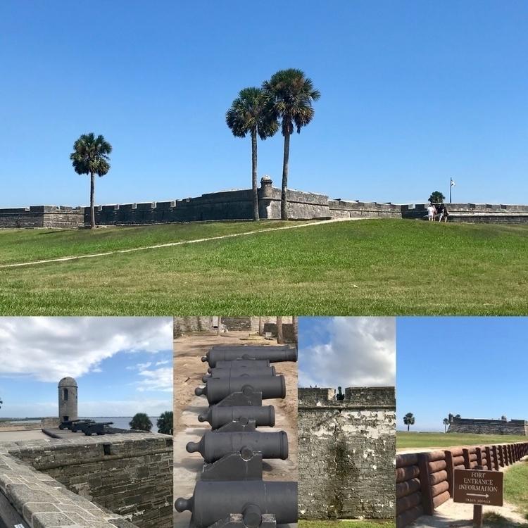 Scenes Castillo de San Marcos,  - mscivilwar | ello