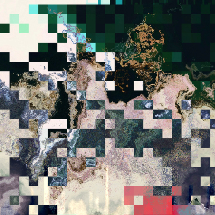 glitch, glitchart, databending - sic_redacted | ello