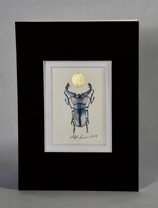 Bid original ink painting eBay - alexakarabin | ello