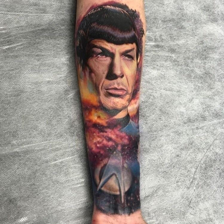 Spock artist Chris Nieves Austr - ellotattoos | ello