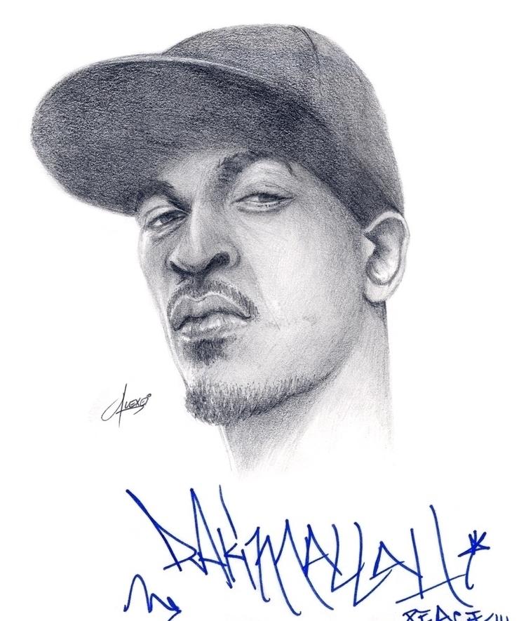 Hip-Hop legend Rakim - HipHop, Art - alexei5000   ello