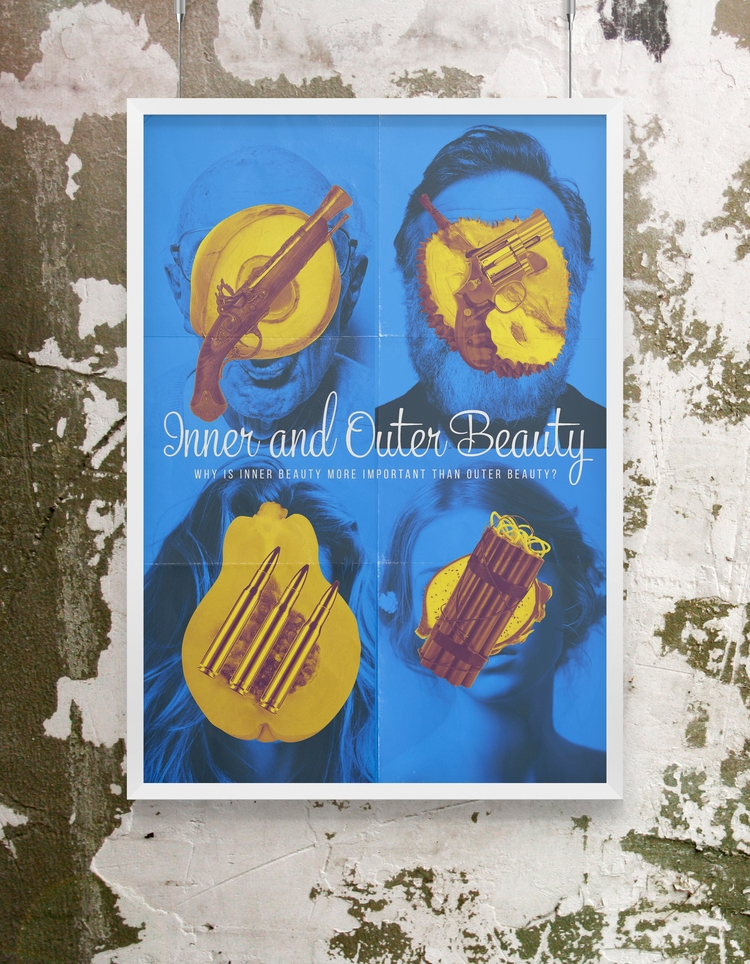 beauty - poster, design, motivation - beliy | ello