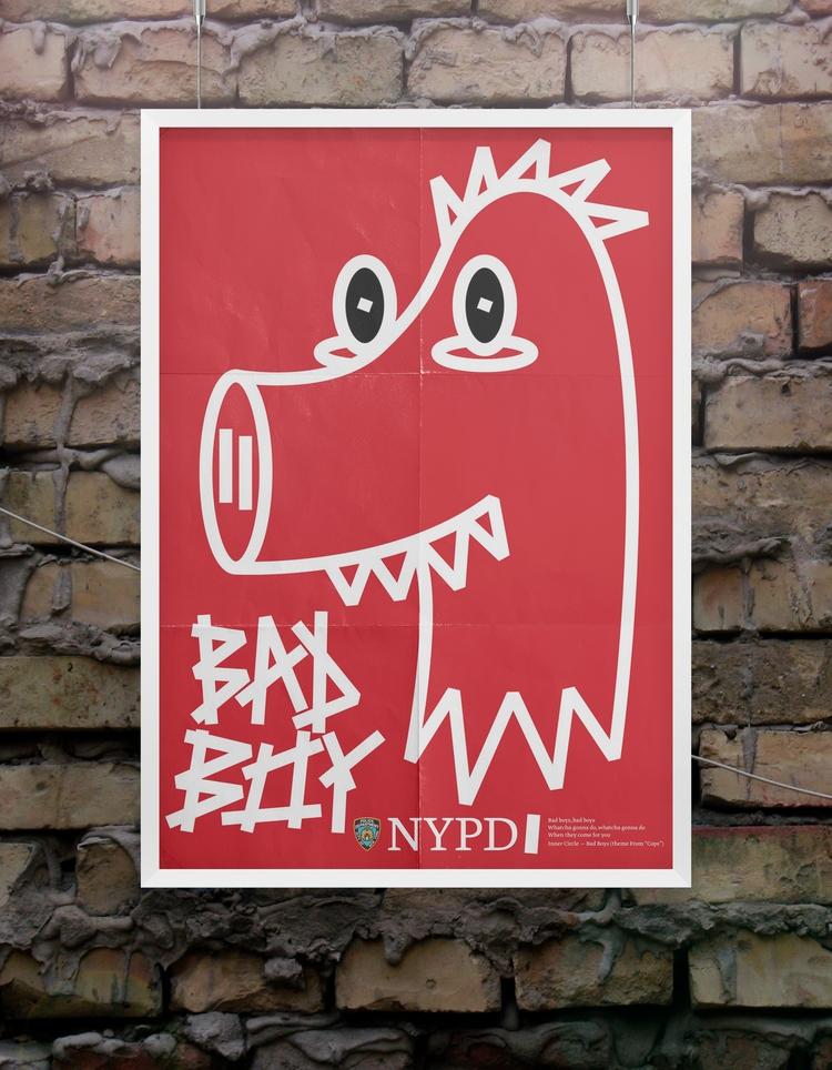 bad boy - poster, design, motivation - beliy | ello