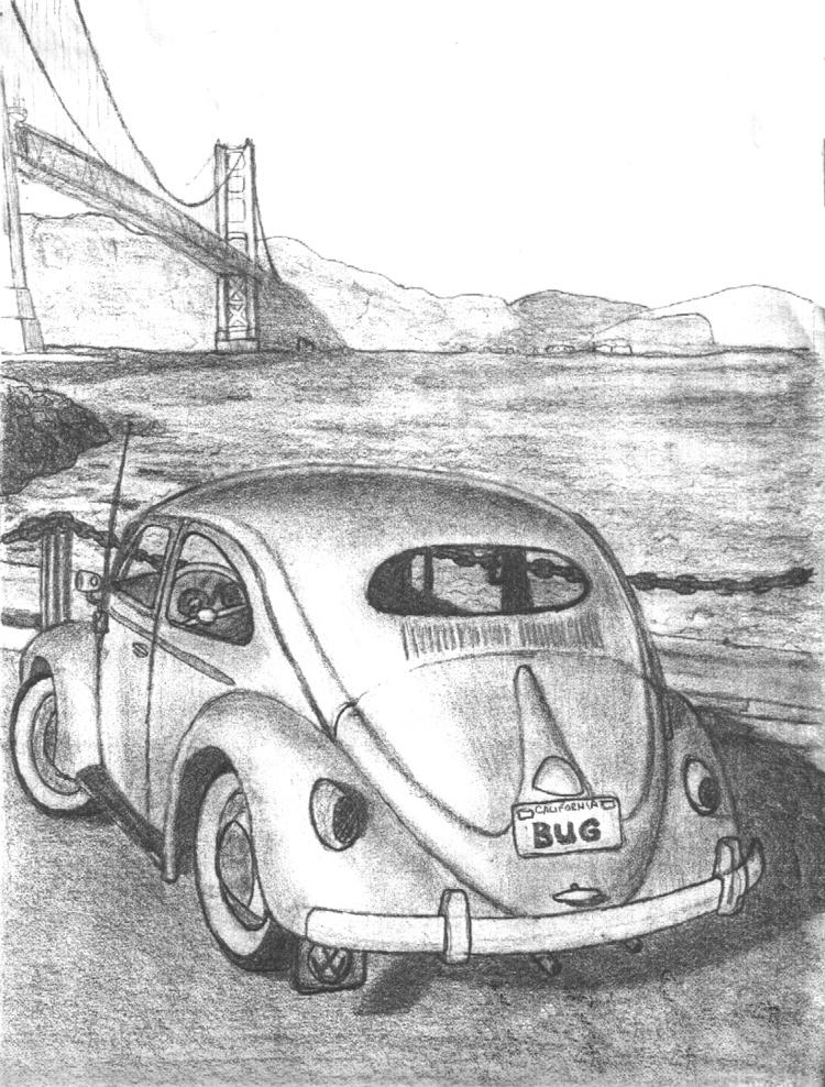 sketch pic magazine - drawing, pencil - kut-n-paste | ello