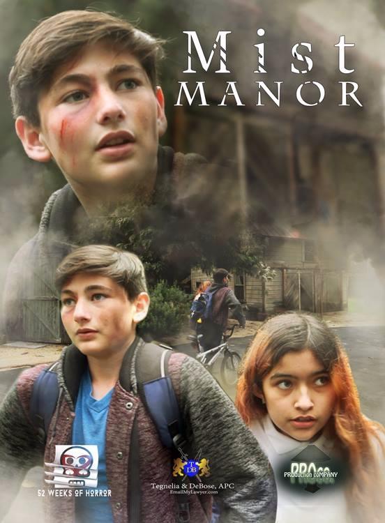 Mist Manor Poster - notbriangerson | ello
