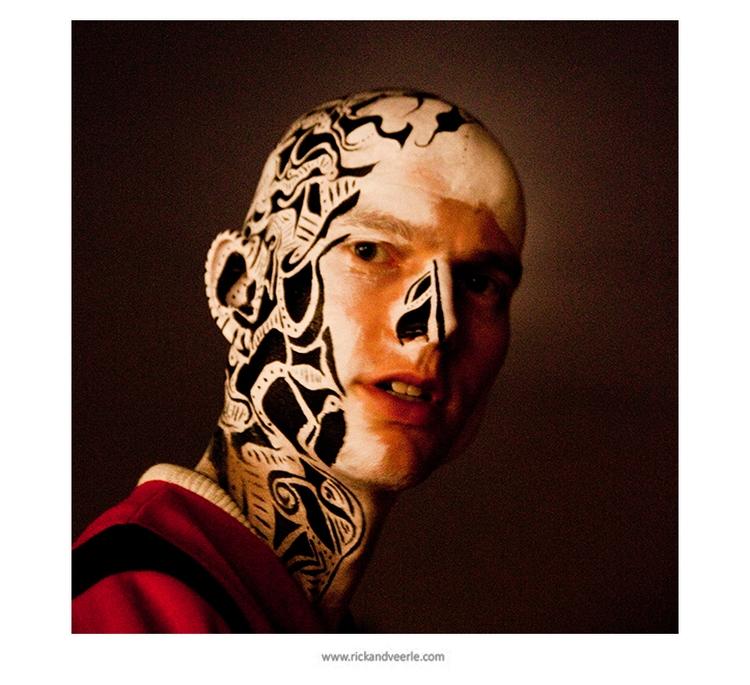 Poetica - bodypaint, painting, art - veerleritstier | ello