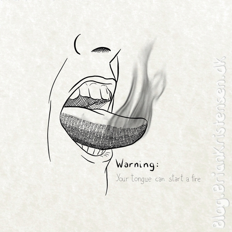 tongue, start, fire - art2u | ello
