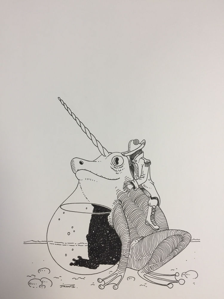 Réservoir / tank - illustration - jimmy-draws | ello