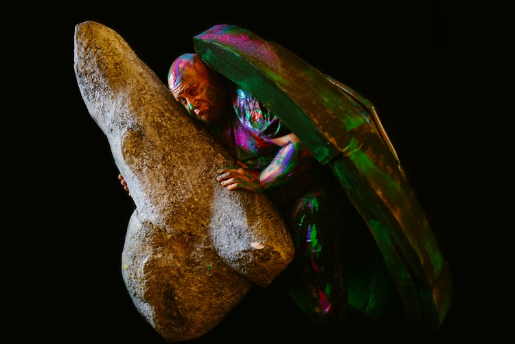 afraid big stone? stone run Ahh - nsey   ello