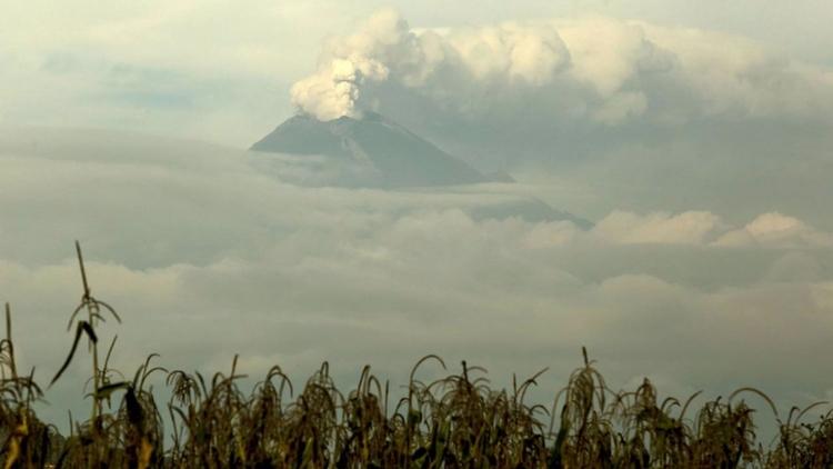 Volcán Popocatépetl despierta a - codigooculto | ello