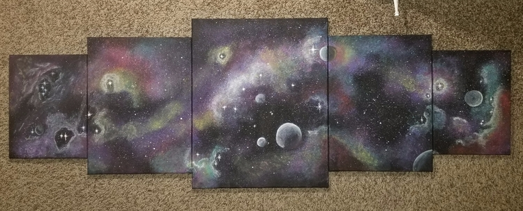 Finished! love! called, Galaxy - defineddesirecollection | ello