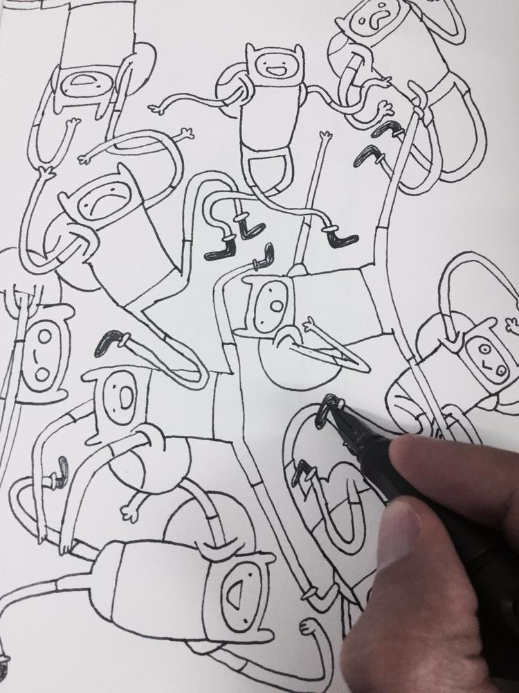 Sketchbook/Adventure time Blog  - babakesmaeli | ello