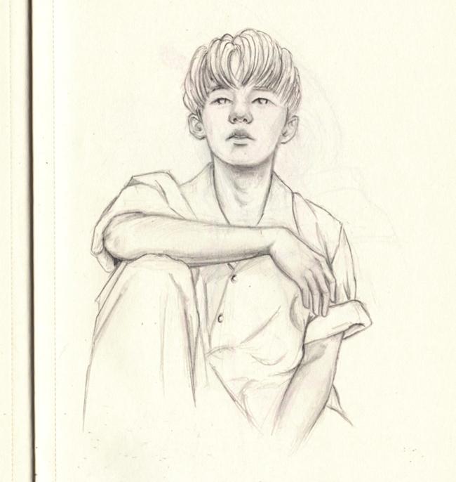 'Daydreamer - doodle, drawing, sketch - j0eyg1rl | ello
