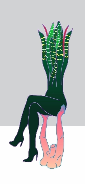 solipsistic - art, illustration - vanniapalacio   ello
